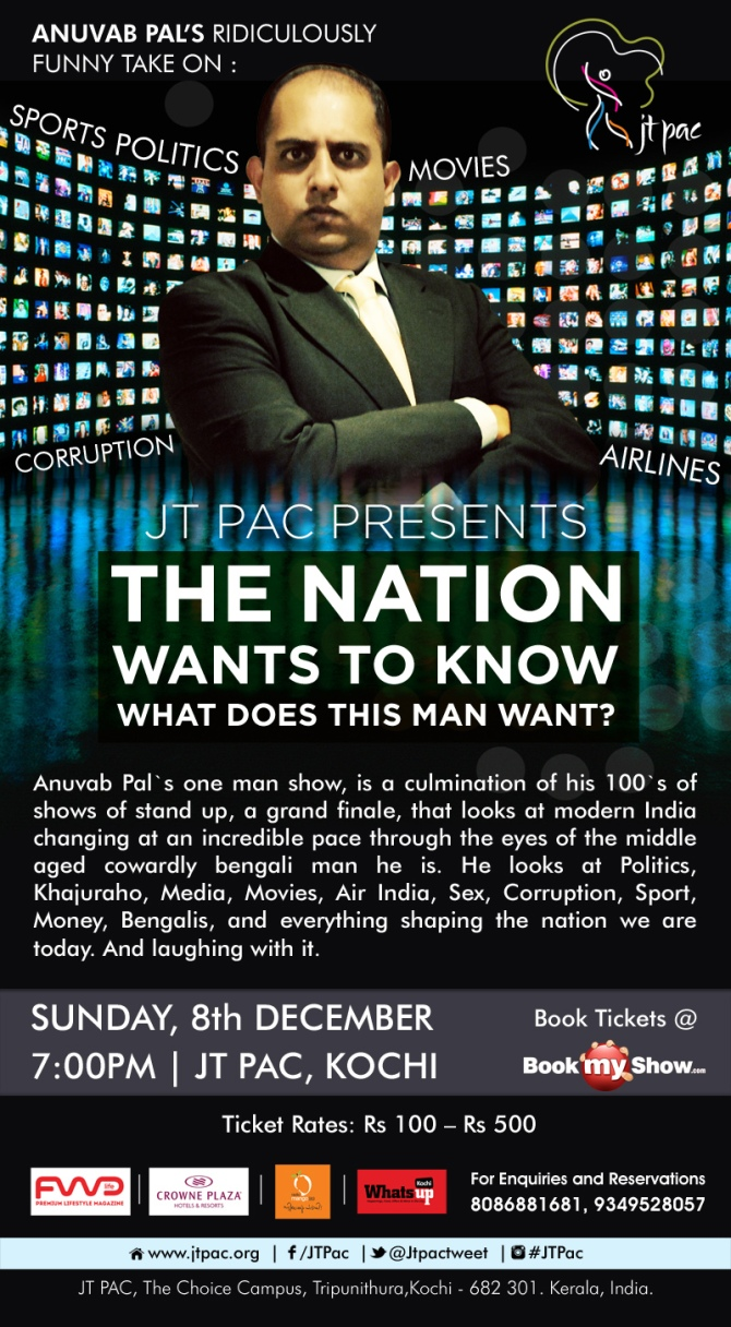 This Sunday- THE NATION GOES TO...KOCHI