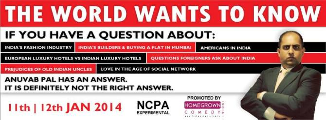 THE WORLD WANTS TO KNOW...11TH AND 12TH JANUARY, 2013